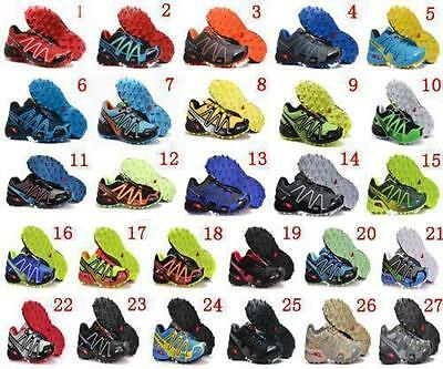 Hot Men's Salomon Speedcross 3 Athletic Running Sports Outdoor Hiking Shoes W62