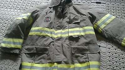 Chieftain Turnout Fire Fighters Jacket Size Large...........tb