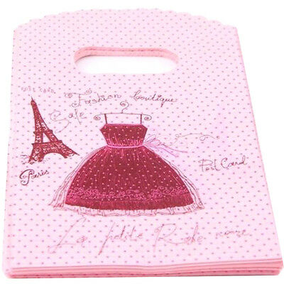 50pcs Wholesale Pretty Mixed Pattern Plastic Party wedding Mini Gift Bag Tote