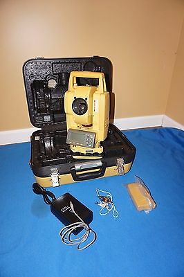 "Topcon GPT-3002 W 2"" Wireless Total Station Reflectorless Battery Charger"