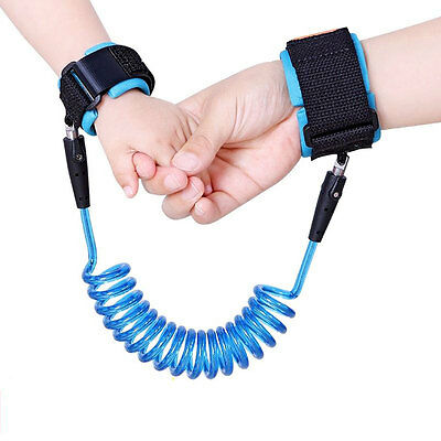 Anti Lost Band Baby Kid Toddler Safety Harness Durable Strap Wrist Leash Walking