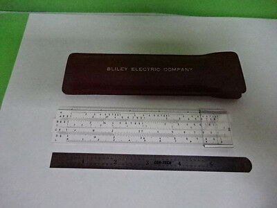 Collectable Bliley Electric Slide Ruler Calculator As Is #as-97