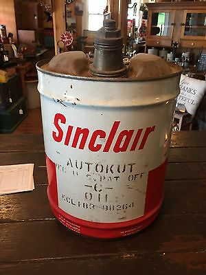 Vintage Sinclair Gas And Oil Can