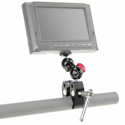 """CAMVATE Clamp Mount Ball Head Magic Arms W/ 1/4"""" for DSLR Camera Monitor LED US"""