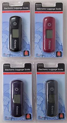 Portable Electronic Luggage Scale - Travel Essentials Kgs Lb Oz Battery Operated