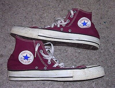 ESTATE 70's Vintage CONVERSE CHUCK TAYLOR Shoes11 Made In USA All Star High Tops