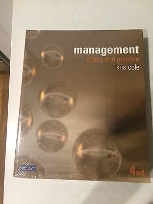 Management Theory And Practice - Kris Cole 4th Edition BRAND NEW