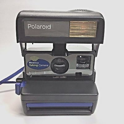 Instant Camera Polaroid One Step Talking WORKS 600 instant film With Strap