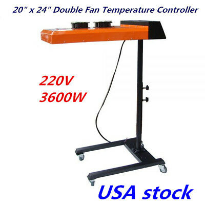 "USA Stock-20"" x 24"" Double Fan Temperature Controller Flash Dryer (220V, 3600W)"