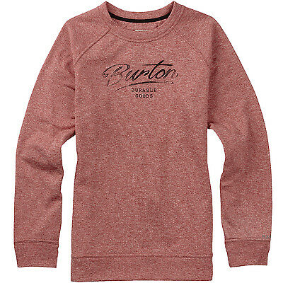 Burton Quartz (Coral Heather) Women's Crew Pullover