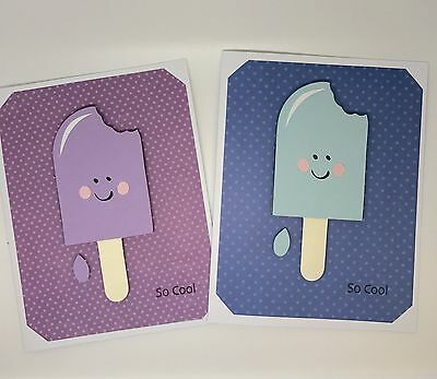 Cute Popsicle So Cool Greeting Card