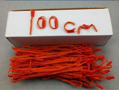 100 Pcs 1M Fireworks Firing system electric Wire Yellow wire E-match Salvo fire