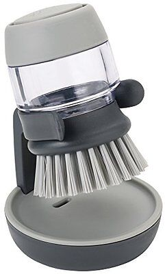Joseph Joseph Palm Scrub Soap Dispensing Washing-Up Brush with Storage Stand - G