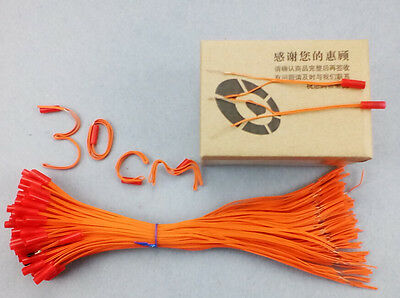 300pcs/lot 11.81in E-match For Fireworks Firing System Electric Igniters display