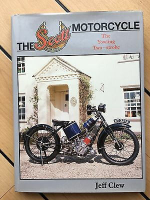 0-85429-164-4 The SCOTT Motorcycle (The yowling two stroke) by Jeff Clew