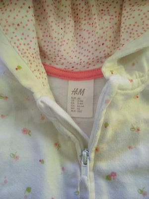 H&M baby clothes 2 sets - hoodie & legging SIZE 000