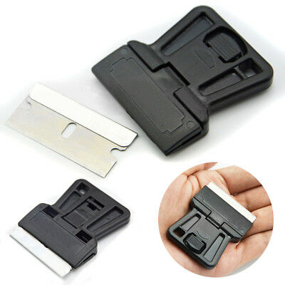 Mini Razor Blade Scraper One-Sided Razor Painting Scraper Holder Handle Standard