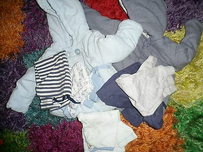 Baby Boy Joblot Clothing - 7 Items - 3-6 Months