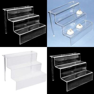 Acrylichomedesign DISPLAY STAND / STEP / RISER 3 TIER RISER DURABLE (ACRYLIC)