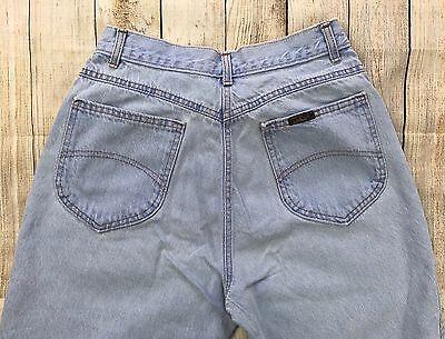 """Vintage VTG 80s 90s High Waist MOM CHIC Denim Jeans Made in the USA 26"""" W"""