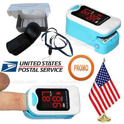 SPO2 PR Monitor Finger Pulse Oximeter Blood OXygen Saturation Heart Rate Machine