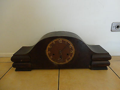 Vintage French Westminster Working Mantle Clock