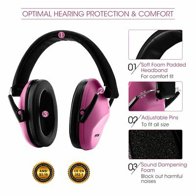 Mpow Kids Hearing Protection Earmuffs Noise Cancelling Ear Protectors Ear Muffs