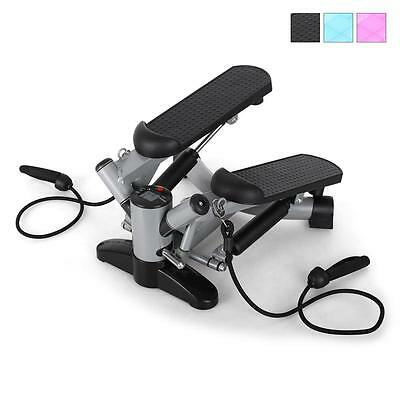 Exercise Stepper Fitness Machine Thigh Toner Trainer Expander Bands Home Gym