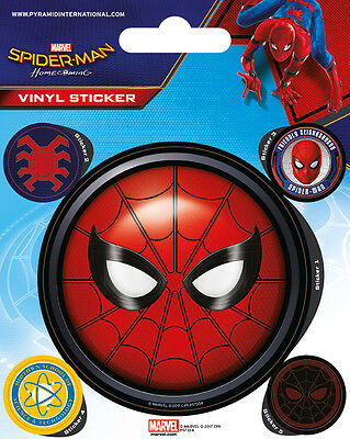 Marvel Spider-Man Homecoming Vinyl Stickers New 100% Official Merchandise