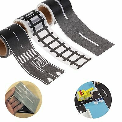 3PCS DIY Race Track Road Wall Stickers Sticky Adhesive Tape Car Kids Toy