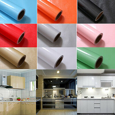 yazi Contact Paper Cupboard Door Drawer Liner Cover Self Adhesive Vinyl Roll