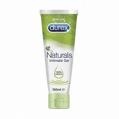 DUREX NATURALS GEL ÍNTIMO 100% NATURAL 100ml 182145  MONOVARSALUD
