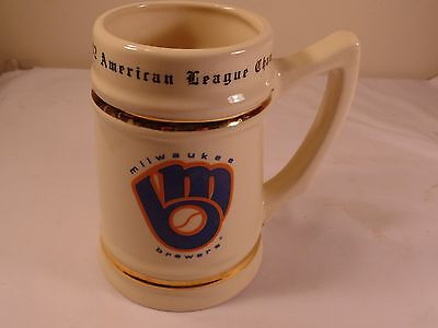 1982 Milwaukee Brewers American League Champions Mug/Stein