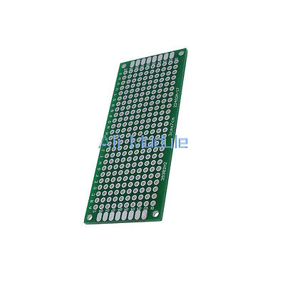 5PCS Double Side Prototype PCB Tinned Universal Breadboard 3x7 cm 30mmx70mm FR4