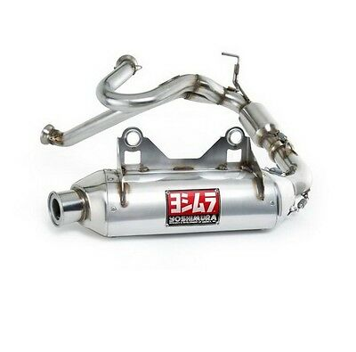 Yoshimura 3/4 Exhaust, New Rs-8, Stainless, '11-'15 Commander, Retail $1009.95