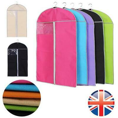 *UK Seller* PREMIUM Suit Storage Bag Garment Cover Coat Clothes Shirts 3 SIZES
