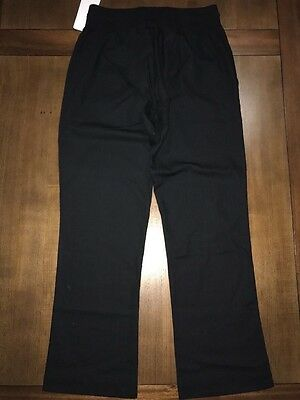 Black Womens Chef pants size Large  NWT RRP$59.95