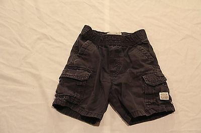 Childrens Place Toddler Boys Cargo Shorts!  Size 24 Months!  Navy Blue!