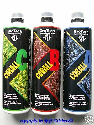 GroTech Corall A B C Set 3x500ml Gro Tech  27,30€/L