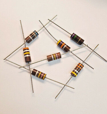 390 Ohm 1//8 Watt Resistor Generic Universal Pack of 20