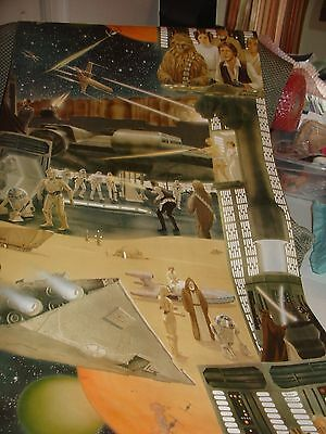 Star Wars Movie 1978 Partial roll of wallpaper not used