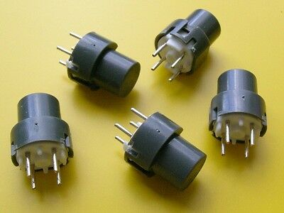[20 pcs] ITT D6R10 Tact Switch SPST-NO 11,4x11,4mm, h=12,9mm