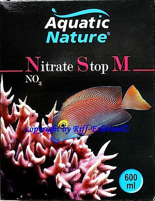 AQUATIC NATURE NITRATE STOP M 600ml pour eau de mer aquariums 56,98€/ L