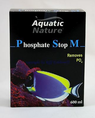AQUATIC NATURE Phosphate Stop M 600ml pour eau de mer aquariums 28,25€/ L