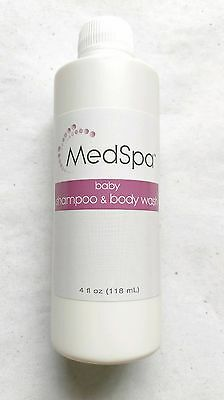 Medspa Baby Shampoo And Body Wash 4 Oz Skincare Baby and Adult FREE SHIPPING