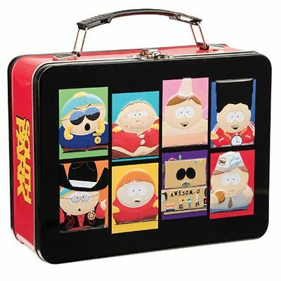 South Park The Many Faces of Cartman Tin Tote Lunchbox