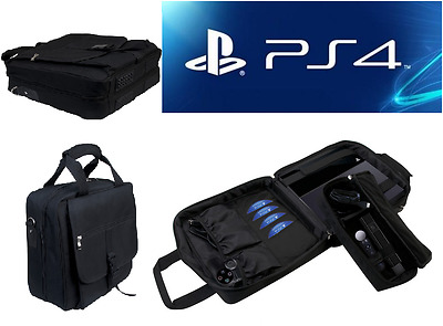 PS4 Travel Case PlayStation 4 & 3 Carrying Bag Disc Pockets Accessories by CTA