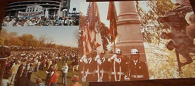 "4 3 1/2"" x 5"" prints June 1986 Vietnam Veterans March"
