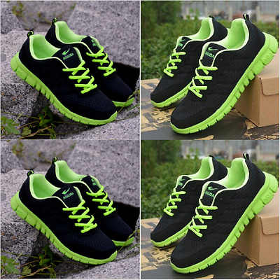 Men's Running Breathable Shoes Sports Casual Athletic Sneakers New FashionEUR43
