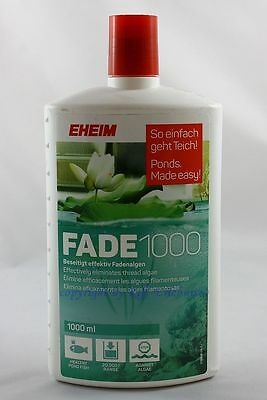 EHEIM Fade 1000 4862210 removes effective Filamentous algae 1000ml For Pond